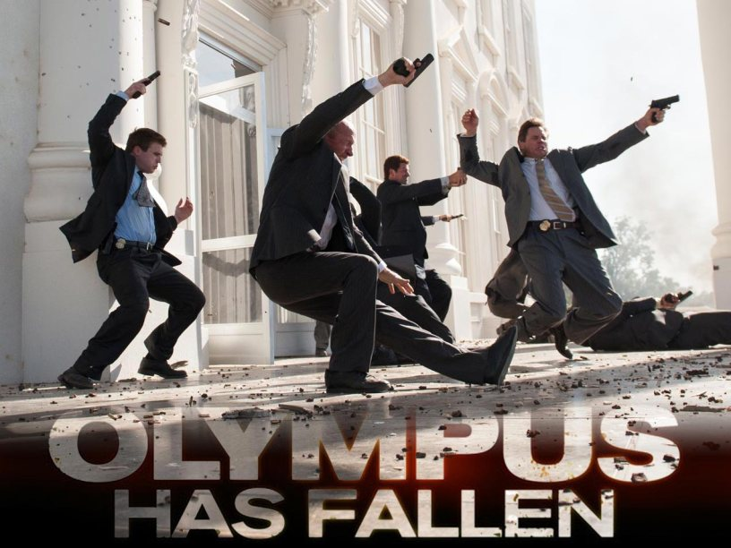 One Mann S Movies Film Review Olympus Has Fallen 2013 One Mann S Movies
