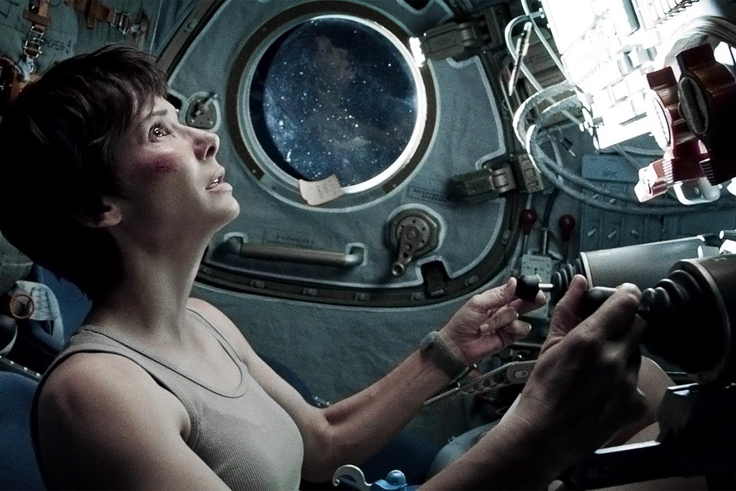 One Mann S Movies Film Review Gravity 2013 One Mann S Movies