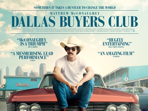 Dallas Buyer's Club poster