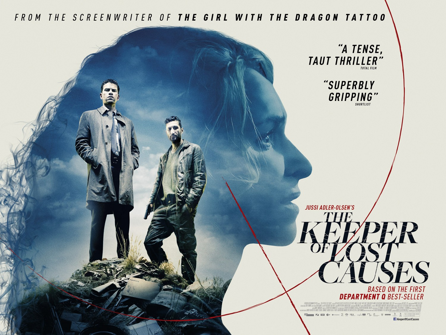 One Mann S Movies Film Review The Keeper Of Lost Causes Kvinden I Buret 2014 One Mann S Movies