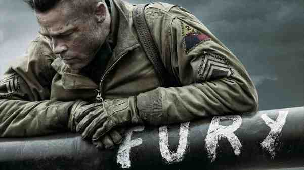Brad Pitt in (and on) Fury