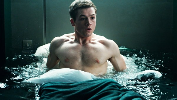 Eggsy's wet dreams of Swedish princesses had been getting worse and worse
