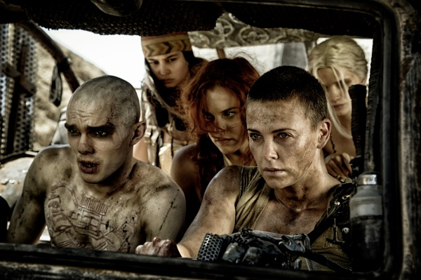 Nux and Furiosa were wondering how much more of Pitch Perfect 2 they could stand at the drive in movie.