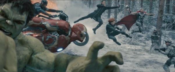 Avengers Assemble:  the money shot.