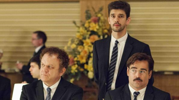 John C Reilly, Ben Wishaw and Colin Farrell:  the best (of a bad bunch) of friends