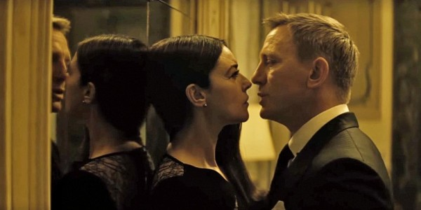 Making Bond history and giving hope the 50+ year old women everywhere.  Monica Bellucci as Lucia Sciarra.