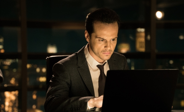 Andrew Scott:  rather miscast as the head of a new intelligence force.
