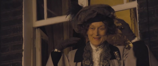 "Streep hoping for that Judi Dench ""Shakespeare in Love"" Oscar touch!"